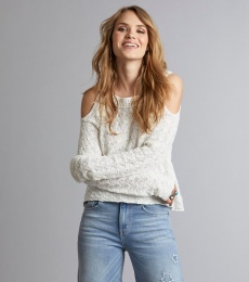 Kniterie Sweater - Light Chalk