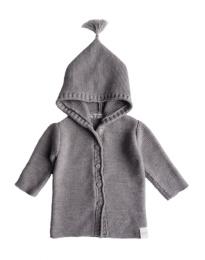 Ebbe Knitted Cardigan - Grey