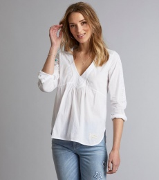 Best Self l/s Blouse - Bright White