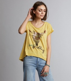 Keep On T-Shirt - Honey Gold
