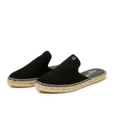 Slippin' Espadrillo Slipper - Almost Black