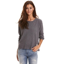 Delight Sweater - Mid Grey Melange