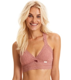 Lace Oddity Top - Old Rose