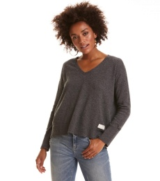 Warm And Vivid Sweater - Grey Melange