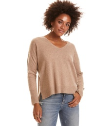 Warm And Vivid Sweater - Tan