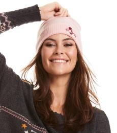 Warm And Vivid Beanie - Sheer Pink