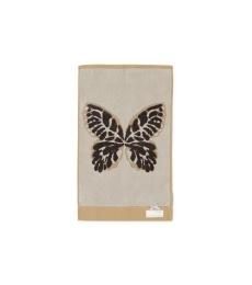 Flutter Feeling Guest Towel 30x50 - Asphalt
