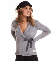 Mrs Charming Cardigan - Grey
