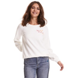 Vibe Spirit Sweater - Light Chalk