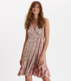 Funky Belle Dress - Pink Powder
