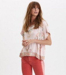 Paradise Groove s/s Blouse - Orchid Pink