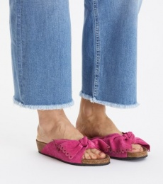 Take A Bow Slipper - Hot Pink
