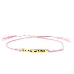 You are awesome - Gold/Pink