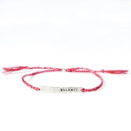 Balance - Silver/Red