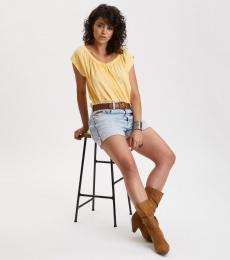 Doooer Top - Vintage Yellow