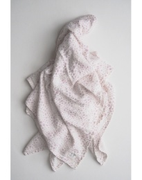 Stella Woven Blanket - Print Pink