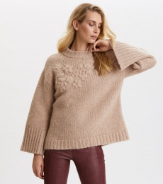 Life Coordinator Sweater - Light Taupe