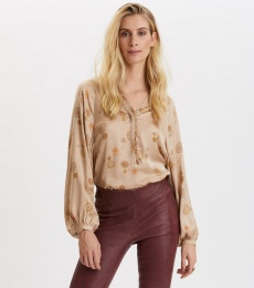 One To Love Blouse - Light Taupe