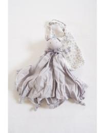 Cuddle Blanket Woven - Grey Dragon