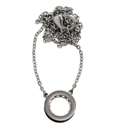 Monaco Necklace Mini Short - Steel