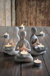 Yogagirl For Tealight - Beige