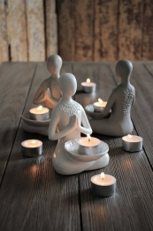 Yogagirl For Tealight - Vit