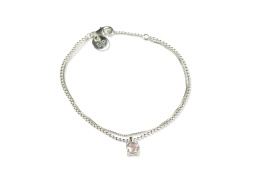 Adorable Bracelet SIlver - Rose