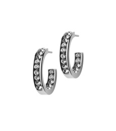 Andorra Earrings Mini - Steel