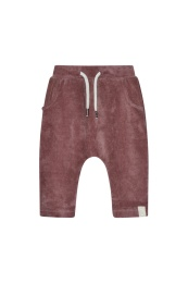 Ash Velour Pant - Dark Ginger