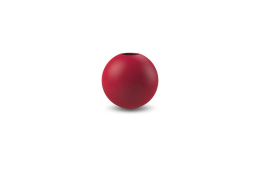 Ball Vase 8 cm - Dusty Red