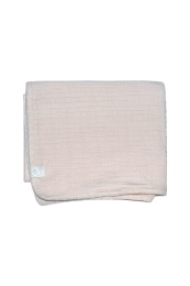 Bowie Blanket Organic - Pink
