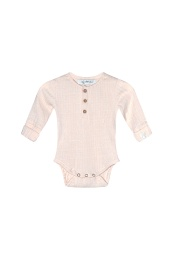 Bowie LS Body Organic - Pink