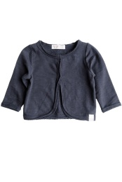 Carla Jacket/Sweatshirt - Solid Navy Blue