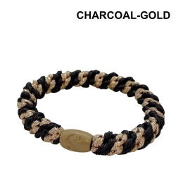 Supersnodden Hårband - Charcoal Gold