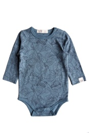 Cleo Body - Print Sea Blue