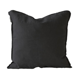 Cushion Cover Linen 50x50 - Carbon