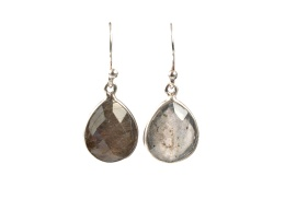 Raindrop Earrings - Labradorite