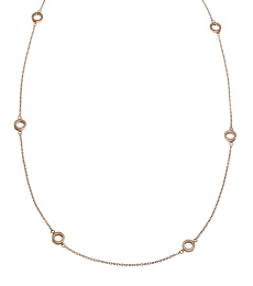 Monaco Necklace Multi Mini - Rosé