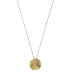 Elsa Necklace Short - Matt Gold
