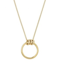 Elsie Necklace Long - Gold