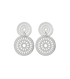 Farrah Earrings - Steel