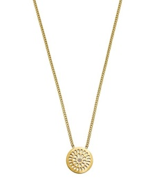 Farrah Necklace Short - Gold