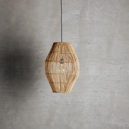 ERBJUDANDE! Lampskärm i Rotting - Oval