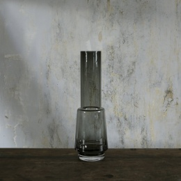 Hurricane Vase no.44 - Smoked Grey