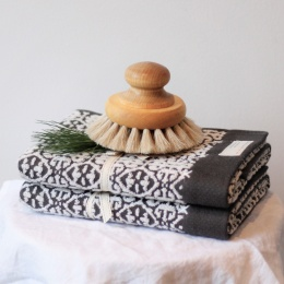 All Yours Guest Towel - Asphalt