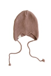 Hannes Knitted Cap - Old Pink