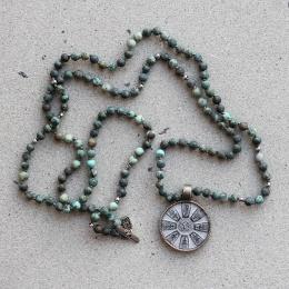 Buddha 20 - African Turquoise