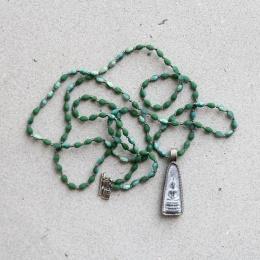 Buddha 27 Drop Crystal - Green