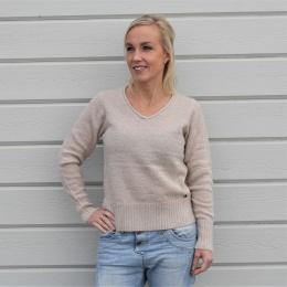 Numerilyn V-neck Pullover - Humus