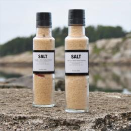 Salt - Vitlök och rödpeppar